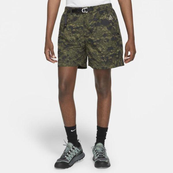 Nike ACG Pantalón corto de trail con estampado por toda la prenda - Hombre - Verde