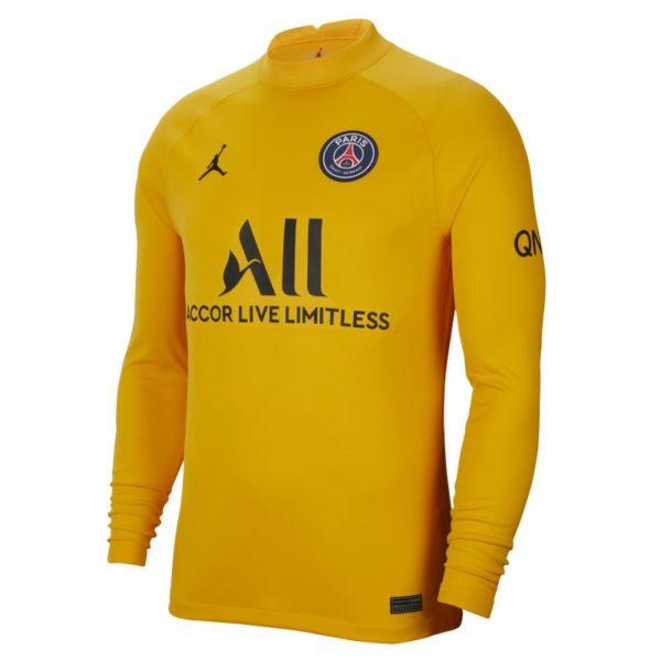 Primera equipación de portero Stadium París Saint-Germain 2021/22 Camiseta de fútbol Jordan Dri-FIT - Hombre - Marrón