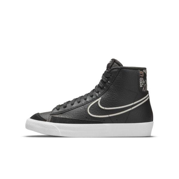 Nike Blazer Mid '77 SE Zapatillas - Niño/a - Negro