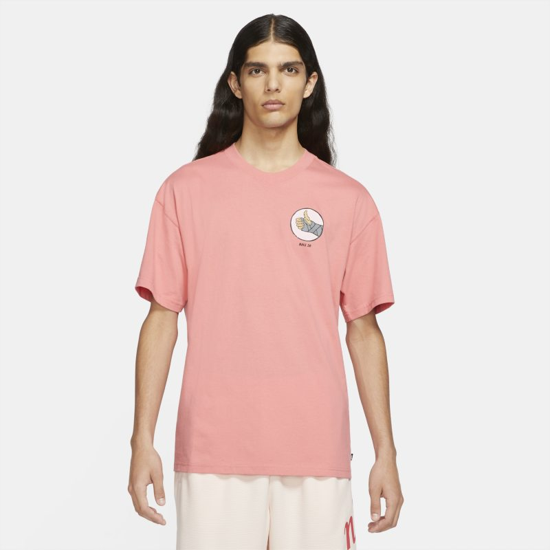 Nike SB Camiseta de skateboard - Hombre - Rosa