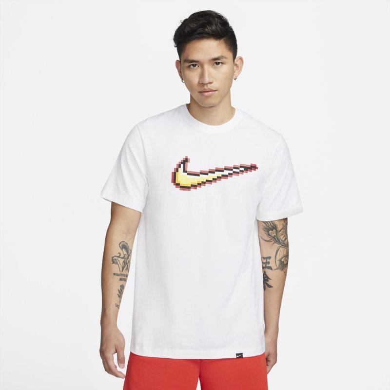 Nike Swoosh Camiseta de baloncesto de manga corta - Hombre - Blanco