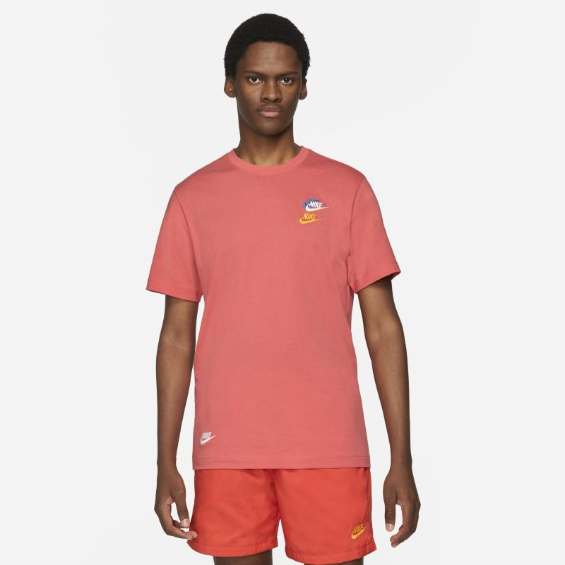 Nike Sportswear Camiseta - Hombre - Naranja