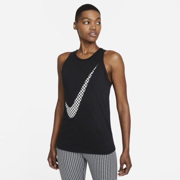 Nike Dri-FIT Icon Clash Camiseta de tirantes de entrenamiento con estampado - Mujer - Negro