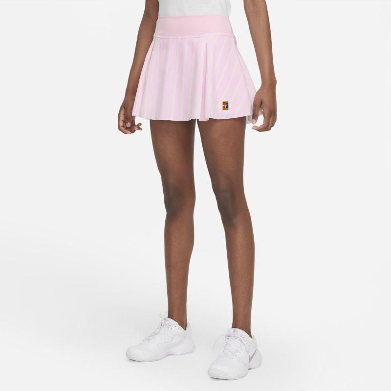 Nike Club Skirt Falda corta de tenis - Mujer - Rosa