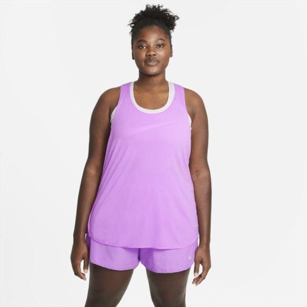 Nike Breathe Cool Camiseta de tirantes de running - Mujer - Morado