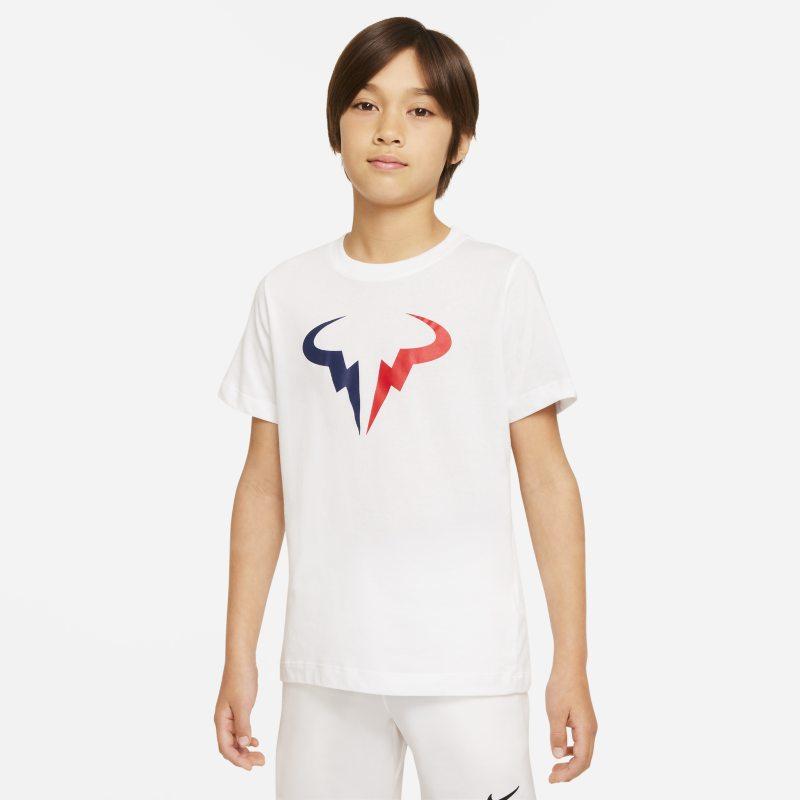 NikeCourt Dri-FIT Rafa Camiseta de tenis - Niño - Blanco