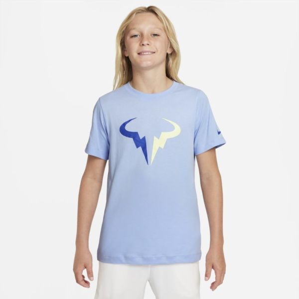 NikeCourt Dri-FIT Rafa Camiseta de tenis - Niño - Azul