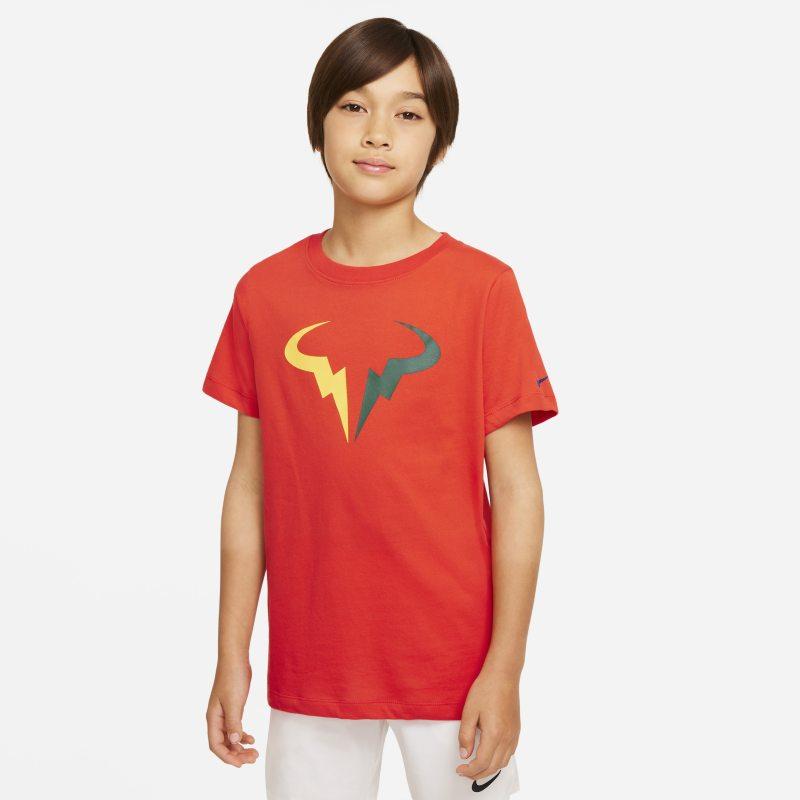 NikeCourt Dri-FIT Rafa Camiseta de tenis - Niño - Rojo