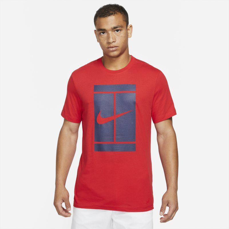 NikeCourt Camiseta de tenis - Hombre - Rojo