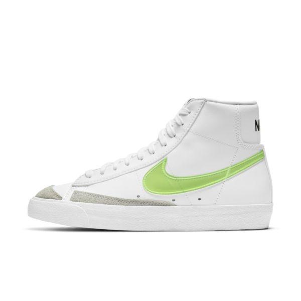 Nike Blazer Mid '77 Essential Zapatillas - Mujer - Blanco