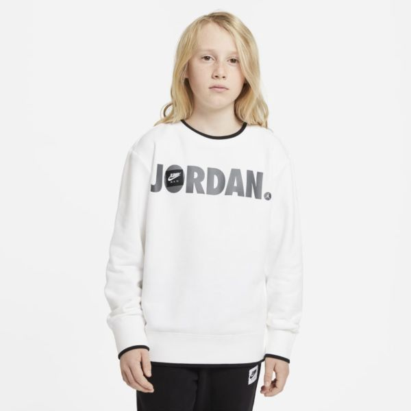 Jordan Sudadera - Niño - Blanco