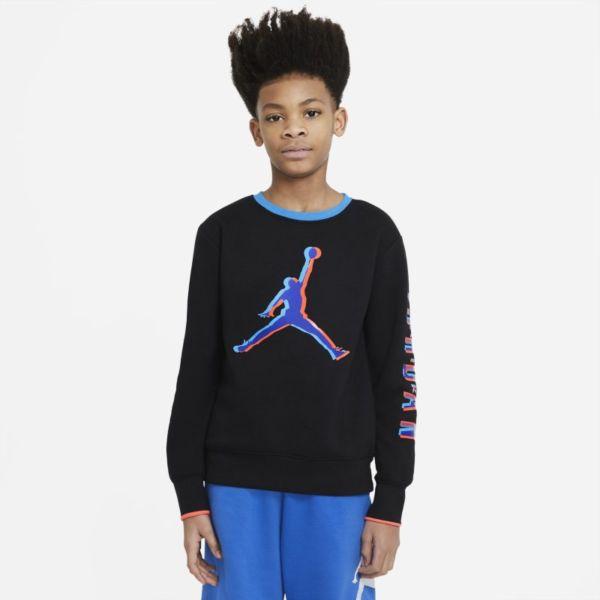 Jordan Sudadera - Niño - Negro