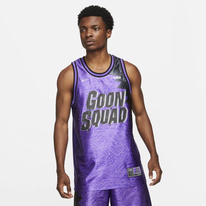 "LeBron x Space Jam: A New Legacy ""Goon Squad"" Camiseta Nike Dri-FIT - Hombre - Morado"
