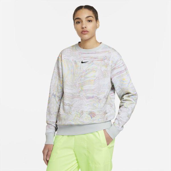 Nike Sportswear Sudadera de tejido Fleece para danza - Mujer - Blanco