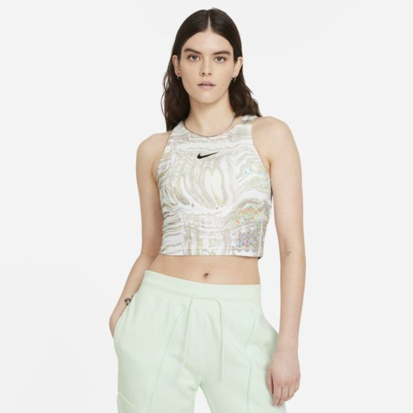 Nike Sportswear Camiseta de tirantes de danza - Mujer - Blanco