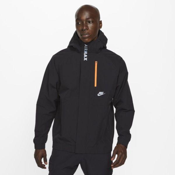 Nike Air Max Chaqueta de tejido Woven - Hombre - Negro