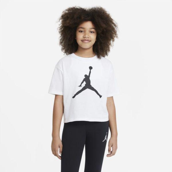 Jordan Camiseta - Niña - Blanco