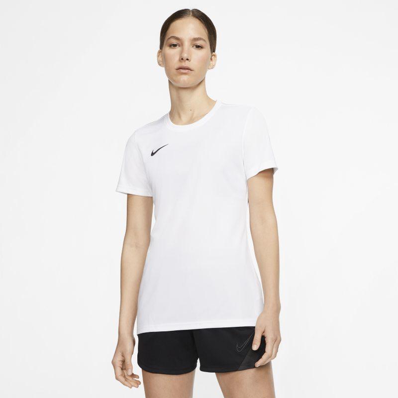 Nike Dri-FIT Park 7 Camiseta de fútbol - Mujer - Blanco