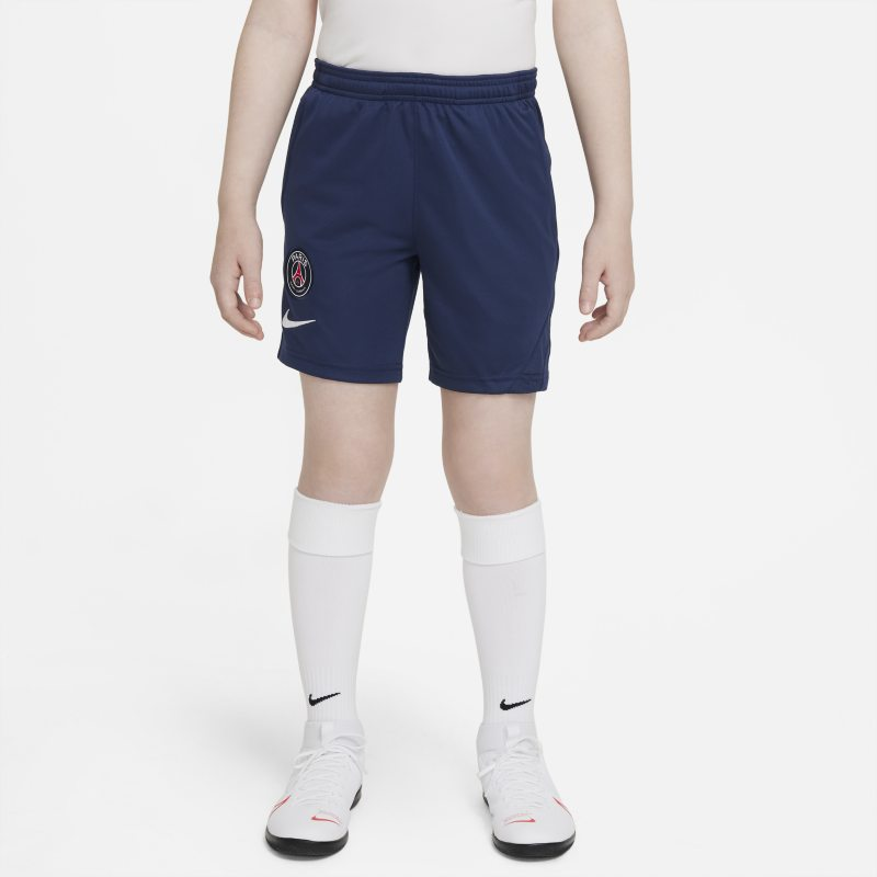 París Saint-Germain Academy Pro Pantalón corto de fútbol Nike Dri-FIT - Niño/a - Azul