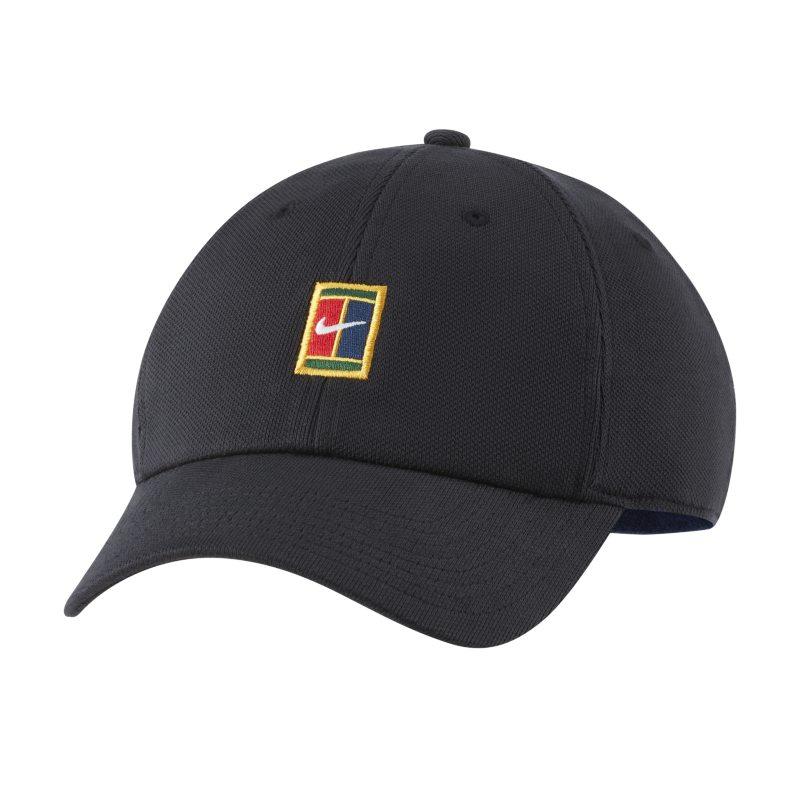 NikeCourt Heritage86 Gorra de tenis con logotipo - Negro