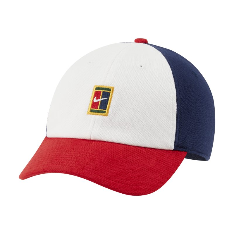 NikeCourt Heritage86 Gorra de tenis con logotipo - Blanco