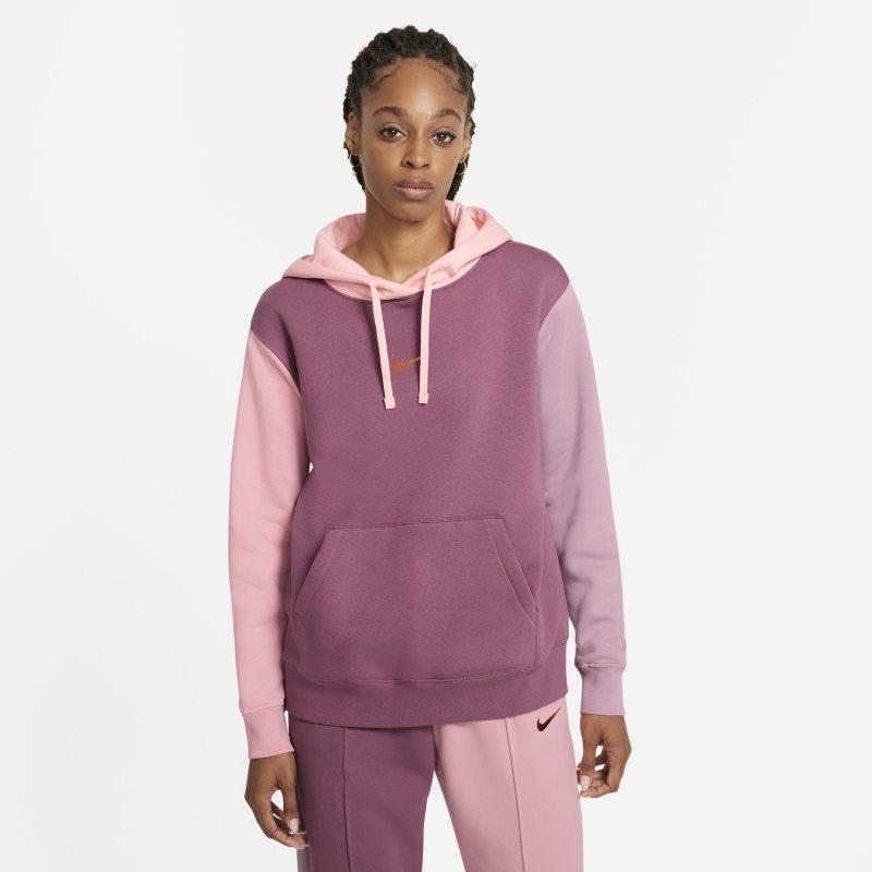 Nike Sportswear Sudadera con capucha - Mujer - Morado