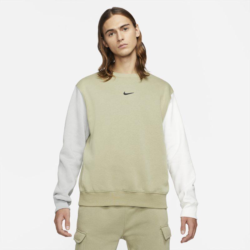 Nike Sportswear Sudadera de tejido Fleece con Swoosh - Hombre - Marrón