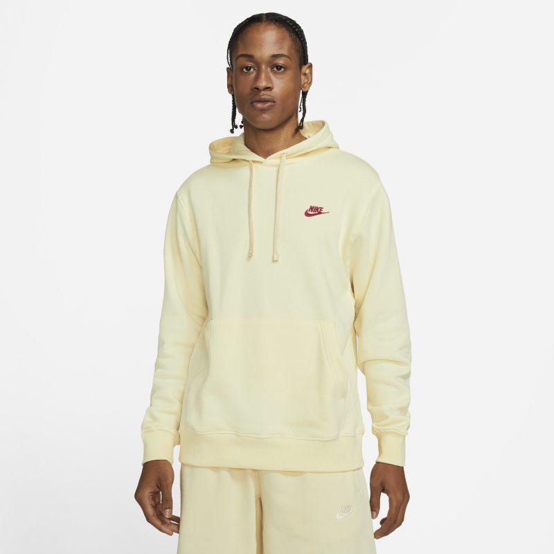 Nike Sportswear Club Fleece Sudadera con capucha - Hombre - Blanco