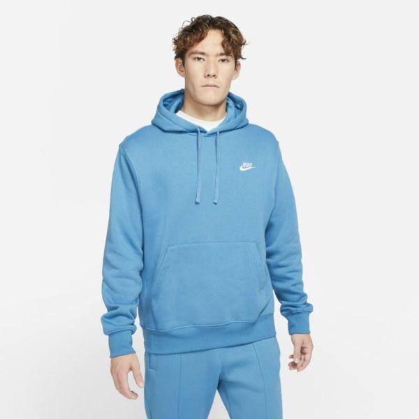 Nike Sportswear Club Fleece Sudadera con capucha - Hombre - Azul