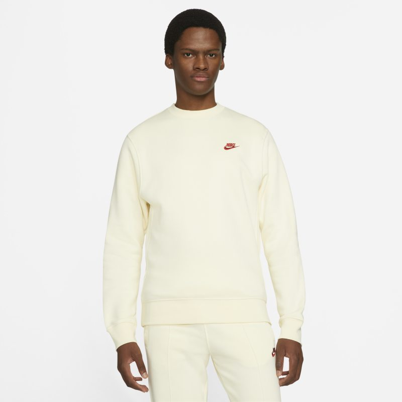 Nike Sportswear Club Fleece Sudadera - Hombre - Blanco