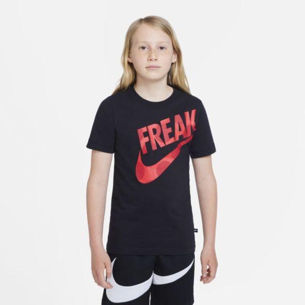 Nike Dri-FIT Giannis Camiseta - Niño - Negro
