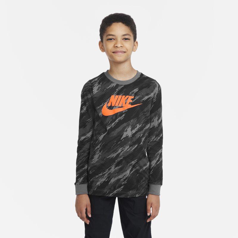 Nike Sportswear Camiseta de manga larga - Niño - Gris