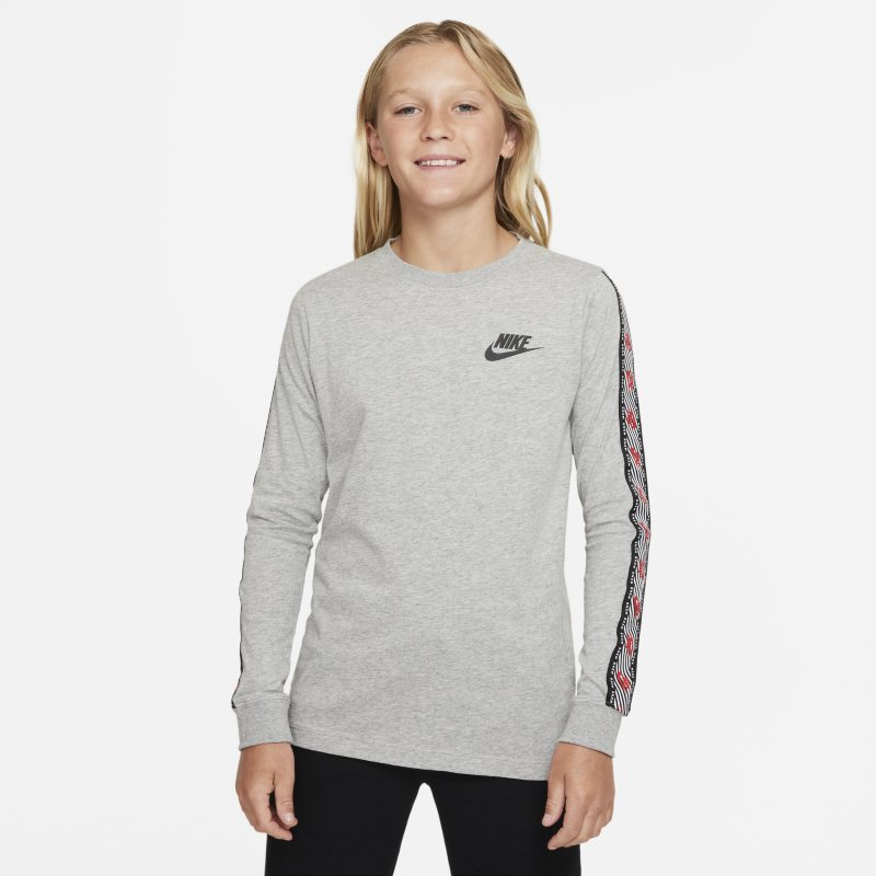 Nike Sportswear Camiseta de manga larga - Niño/a - Gris