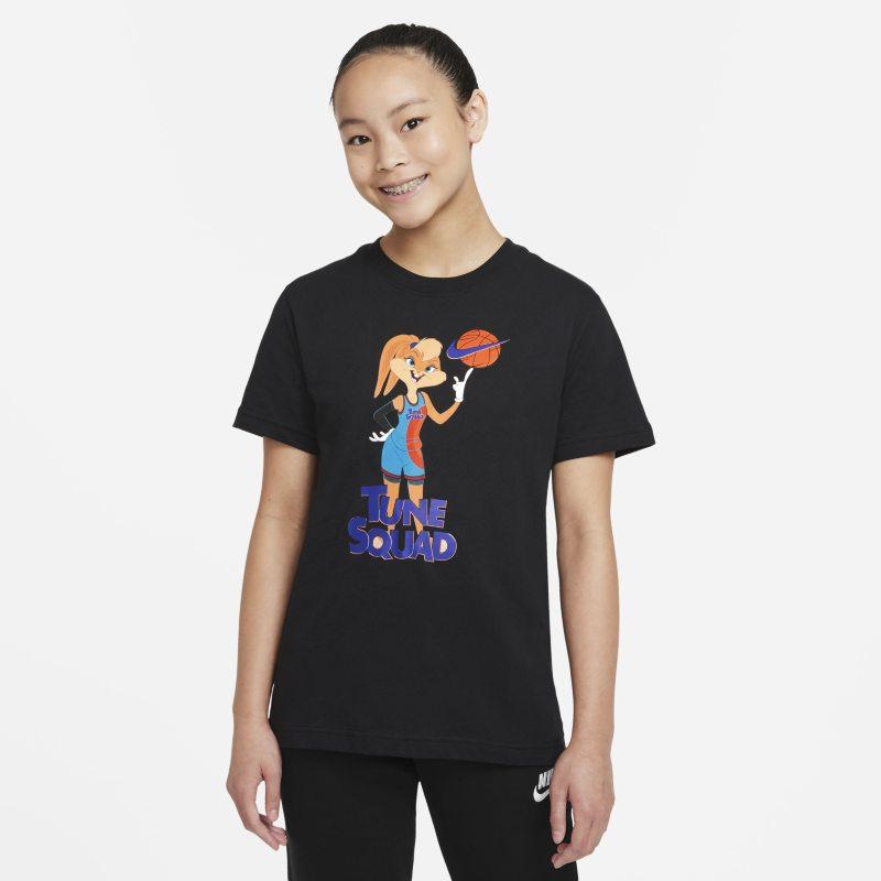 Nike Sportswear x Space Jam: A New Legacy Camiseta - Niña - Negro