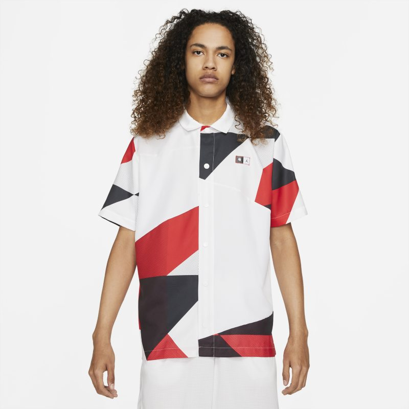 Jordan Quai 54 Camiseta de baloncesto con estampado - Hombre - Blanco