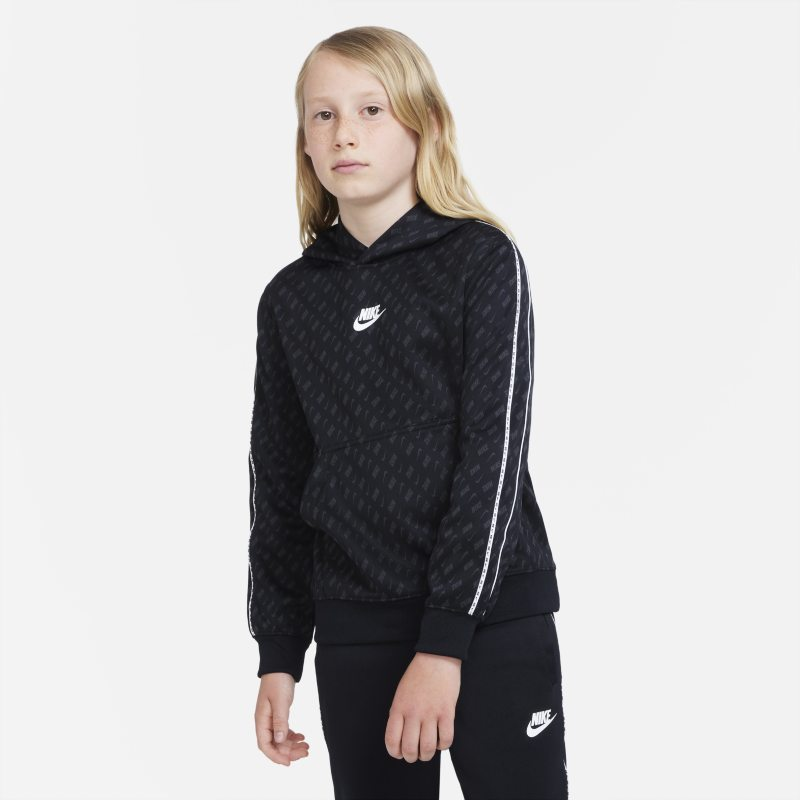 Nike Sportswear Sudadera con capucha - Niño - Negro