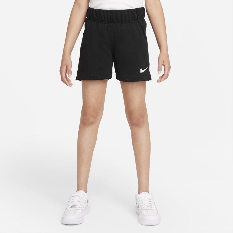 Nike Sportswear Pantalón corto de tejido French terry - Niña - Negro