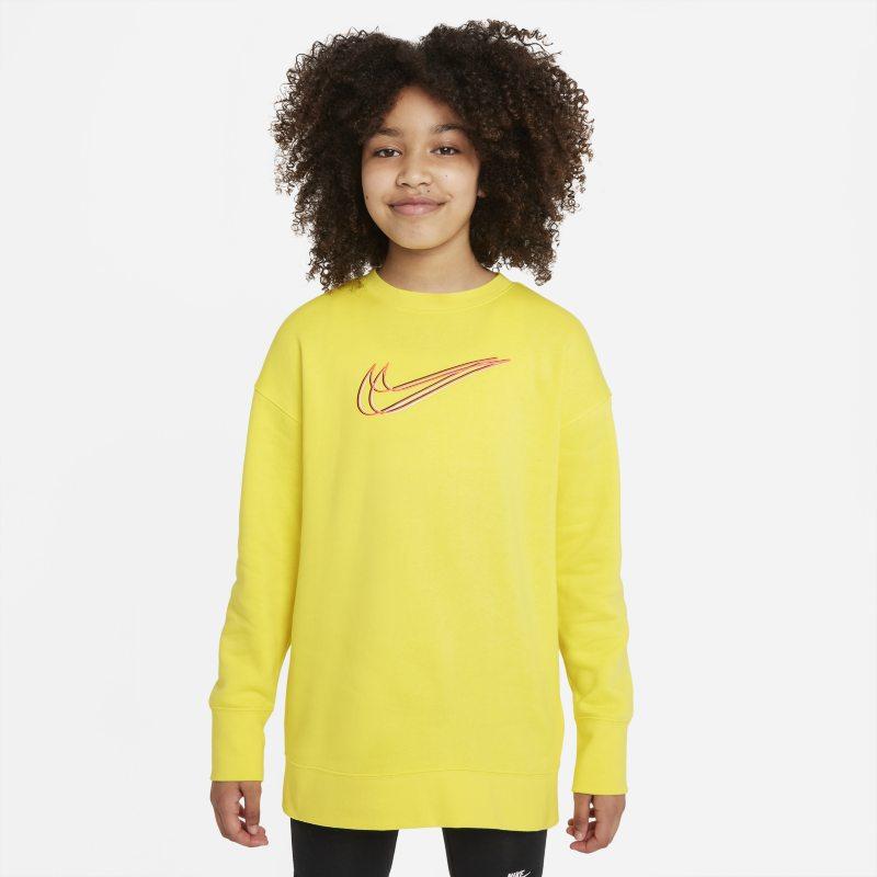 Nike Sportswear Sudadera de chándal - Niña - Amarillo