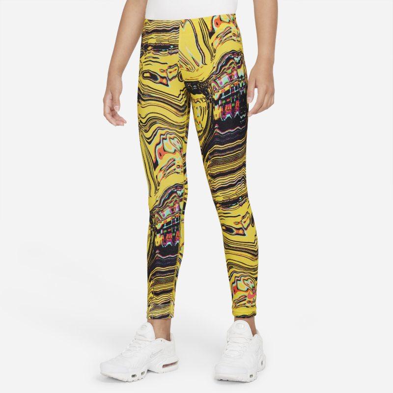 Nike Sportswear Favorites Leggings con estampado - Niña - Amarillo