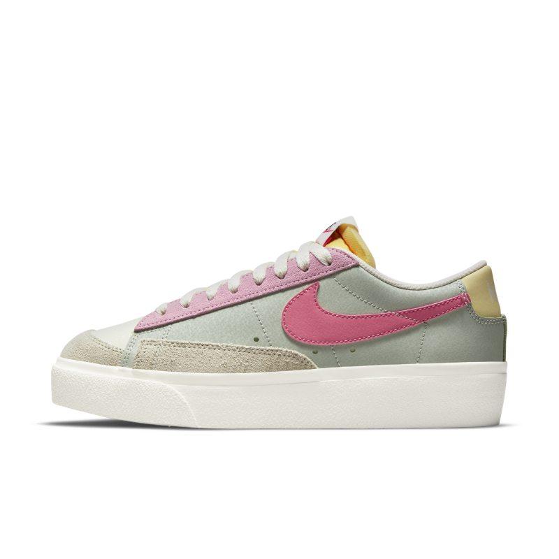 Nike Blazer Low Platform Zapatillas - Mujer - Verde