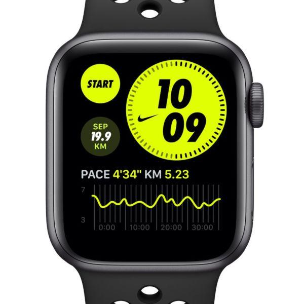 Apple Watch Nike Series 6 (GPS + Cellular) con correa Nike Sport de 44 mm y caja de aluminio en gris espacial - Gris