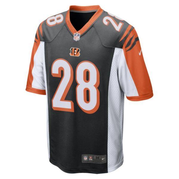 NFL Cincinnati Bengals (Joe Mixon) Camiseta de fútbol americano - Hombre - Negro