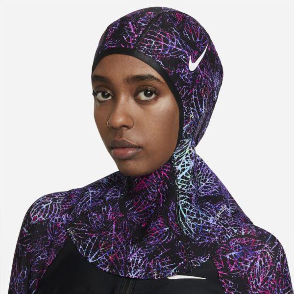 Nike Victory Hijab de natación - Mujer - Negro
