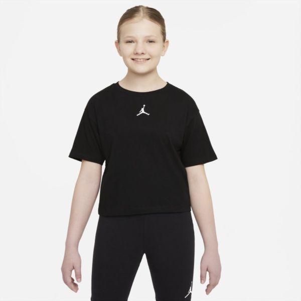 Jordan Camiseta - Niña - Negro