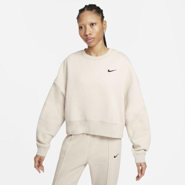 Nike Sportswear Camiseta corta de tejido Fleece - Mujer - Gris