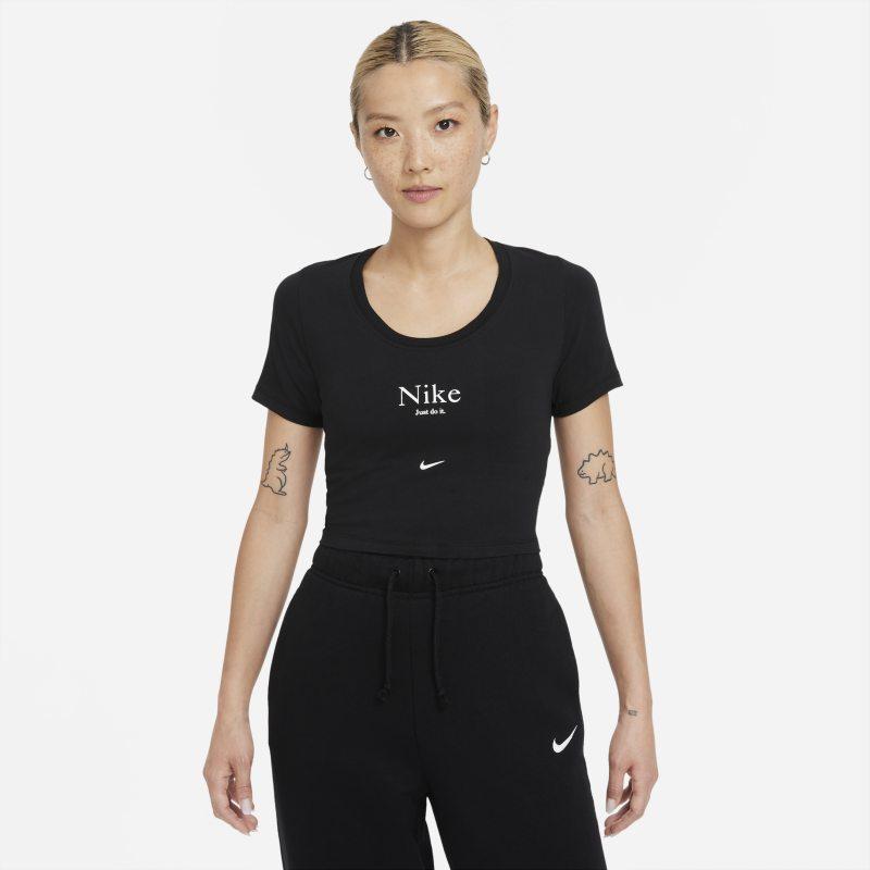 Nike Sportswear Essential Camiseta corta de manga corta - Mujer - Negro