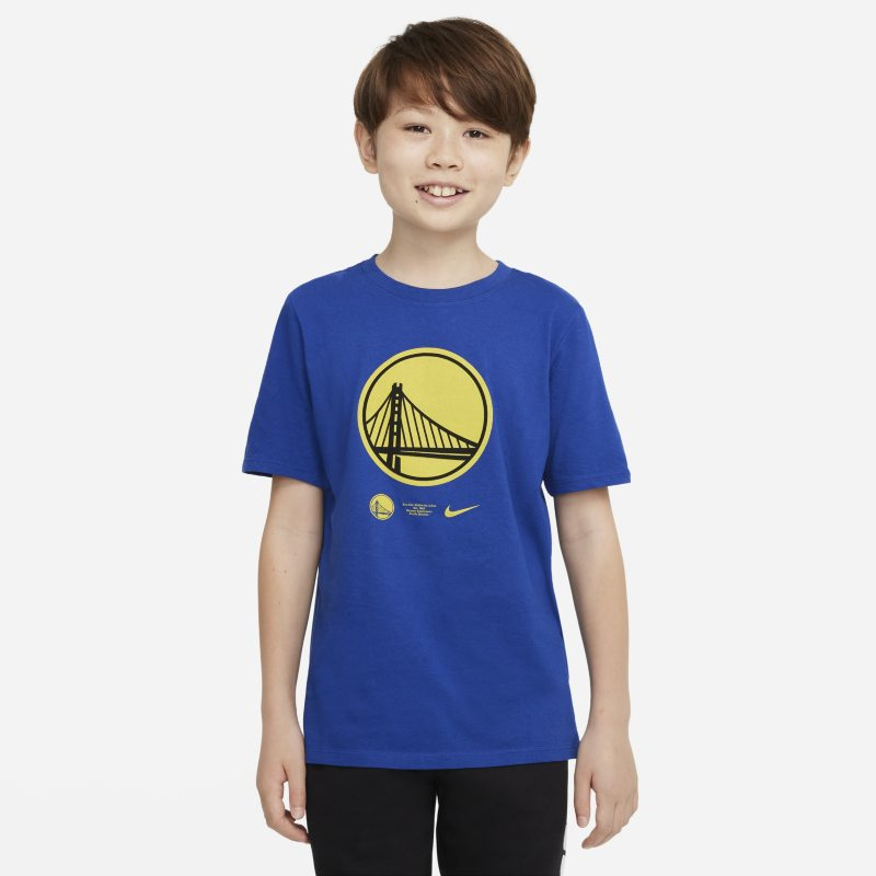 Golden State Warriors Camiseta Nike Dri-FIT NBA - Niño/a - Azul