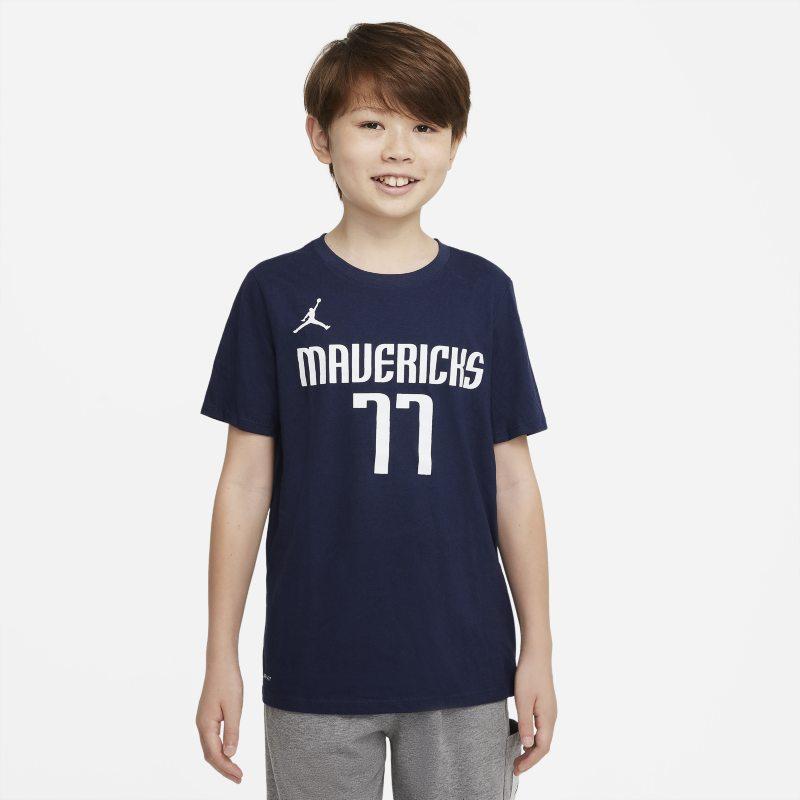 Dallas Mavericks Camiseta Nike Dri-FIT NBA - Niño/a - Azul