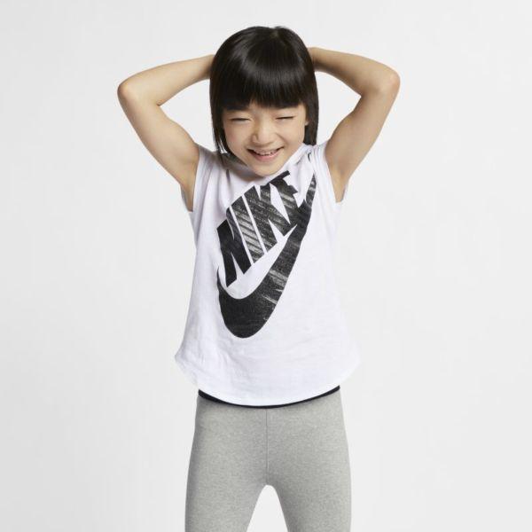 Nike Sportswear Camiseta - Niño/a pequeño/a - Blanco