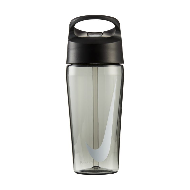 Nike 473 ml TR HyperCharge Straw Botella de agua - Negro